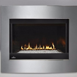 Napoleon Crystallo Clean-Face Direct Vent Gas Fireplace - BGD36CFGN-2
