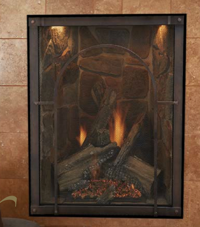 Discount Empire Forest Hills Traditional Portrait Style Direct Vent Fireplace