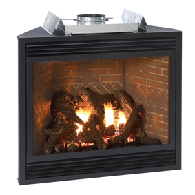 Discount Empire Direct Vent Gas Luxury 36 Inch Fireplace