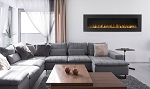 Napoleon 72-In Allure Wall Mount Electric Fireplace-NEFL72FH
