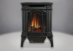 Napoleon Arlington Direct Vent Cast Iron Gas Stove -Painted Black-NG