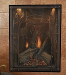 Empire Forest Hills Traditional Portrait Style Direct-Vent Fireplace