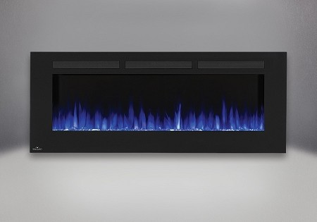 Napoleon 60-In Allure Wall Mount Electric Fireplace-NEFL60FH