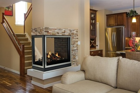 Empire Tahoe Direct-Vent Premium Clean-Face Multi-Sided Fireplaces-DVCP-36-PP30N