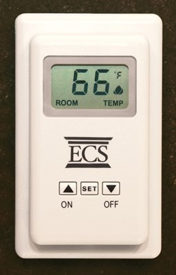 Empire Wall Thermostat with Wireless Remote Control - TRW