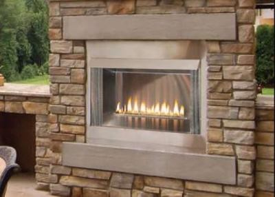 Empire Outdoor Stainless Premium Firebox, 36-inch, Refractory Liner